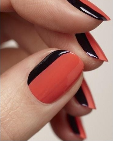 has a Tip for beautiful Gel nails and some French Manicure ideas