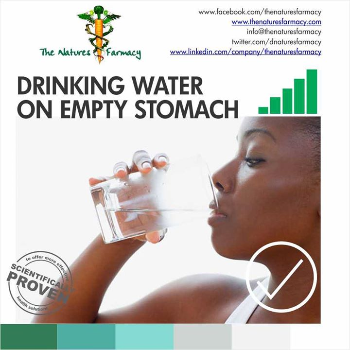Importance Of Drinking Water On Empty Stomach